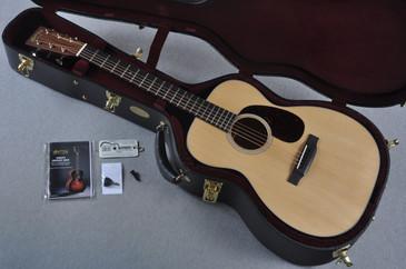 """2016 Martin Custom Shop 00-18 VTS Adirondack Waverly 1 3/4"""" Nut Acoustic Guitar #2054120 - Case"""