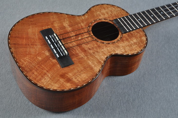 Kamaka 100th Anniversary Long Neck Tenor Deluxe Uke HF-3LD - 162647 - View 3