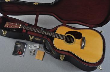 2016 Martin Custom Shop HD-28V Guatemalan Rosewood Acoustic #2023293 - Case