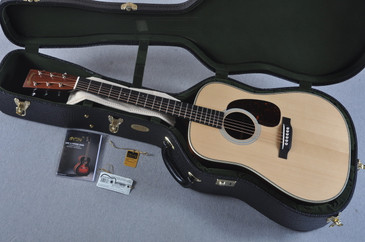2016 Martin D-28 Authentic 1937 VTS Adirondack Acoustic Guitar #2041427 - Case
