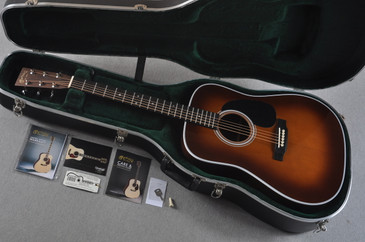 2016 Martin D-28 Standard Ambertone Dreadnought Acoustic Guitar #2062553  - Case