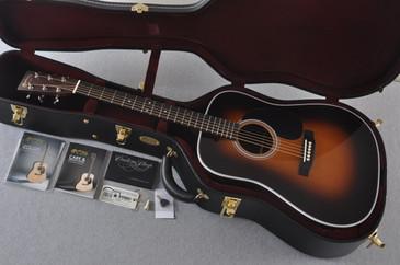 2017 Martin Custom Shop D-28 VTS Sitka 1935 Sunburst Acoustic #2083137 - Case