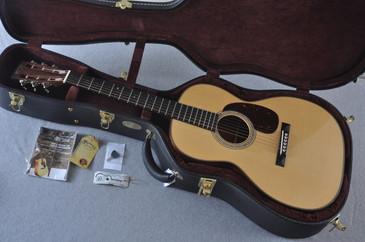 2013 Martin Custom Shop 000-28 12 Fret Swiss Spruce Goncalo Alves #1750205 - Case