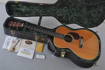 1999 Martin OM-28V Vintage Series Acoustic Guitar #719246 - Case
