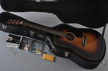 2017 Martin D-18 Standard 1935 Sunburst Acoustic Guitar #2067570 - Case