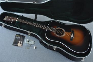 2017 Martin D-28 Standard 1935 Sunburst Dreadnought Acoustic Guitar #2079655 - Case