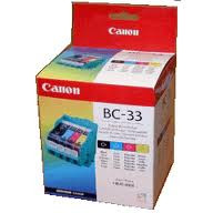 CANON BC33 COLOUR INK CARTRIDGE