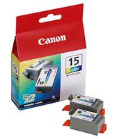 CANON BCI15CL 2 PACK COLOUR INKJET