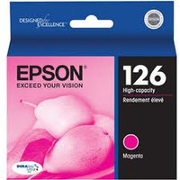 126 MAGENTA HIGH CAPACITY INKJET