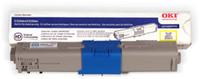 Okidata C330/530/MC361/MC561 Yellow Compatible Toner Cartridge, Type C17 (3k)