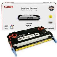 Canon 111 Yellow Toner For imageCLASS MF9170C, imageCLASS MF9280CDN, imageCLASS MF9220CDN, imageCLASS MF9150C