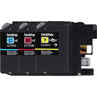 Brother LC-101 3Pack, Cyan,Magenta and Yellow Inkjet Cartridges