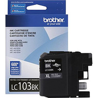 Brother LC103 Black High Capacity Inkjet Cartridge