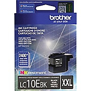 Brother LC10E Black Ink, LC10EBK, Extra High Yield Compatible Ink Cartridge