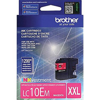 Brother LC10E Magenta Ink, LC10EM, Extra High Yield Compatible Ink Cartridge
