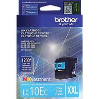 Brother LC10E Cyan Ink, LC10EC, Extra High Yield Compatible Ink Cartridge
