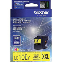 Brother LC10E Yellow Ink, LC10EY, Extra High Yield Compatible Ink Cartridge