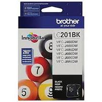 BROTHER INKJET LC201 BLACK 5/BX