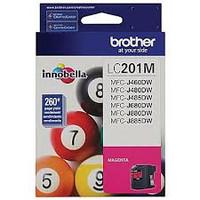BROTHER INKJET LC201 MAGENTA 5/BX