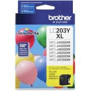 Brother LC203YS Compatible Yellow Ink Cartridge, High-Yield