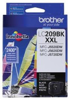 BROTHER LC209 COMPATIBLE SUPER HY BLACK INK
