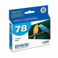 EPSON T078220 COMPATIBLE CYAN INKJET CARTRIDGE #78