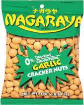Nagaraya Cracker Nuts (Garlic) 5.64 oz. - 2 Pack