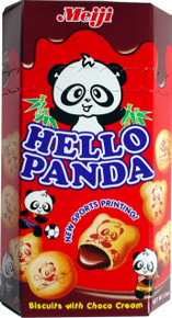 Hello Panda Chocolate Biscuits 10 x 2.5oz