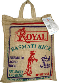 Basmati Indian Rice 10 lbs.