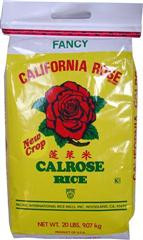 California Calrose Rice 20 lbs.