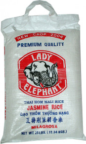 Lady Elephant Jasmine Rice 25 lbs.