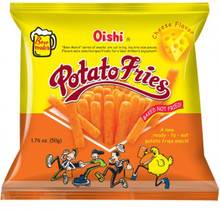 OISHI POTATO FRIES 50G - CHEESE FLAVOR