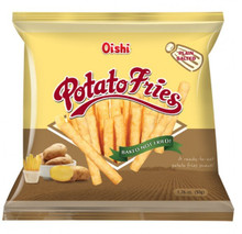OISHI POTATO FRIES 50G - PLAIN SALTED FLAVOR
