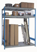 Bumper & Pipe Rack withTall Bay Storage