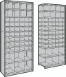 Closed Shelving with 56 Bins, Starter & Adder