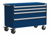 Mobile Drawer Cabinet Rousseau Heavy Duty R5BJG-3003 Avalanche Blue