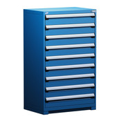 R5AEE-5813 Avalanche Blue, Rousseau Heavy Duty Drawer Cabinet