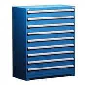 R5AHE-5813 Avalanche Blue, Rousseau Heavy Duty Drawer Cabinet