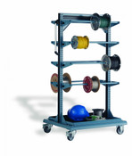 "Multi-Purpose Stand, Wire Spools, Mobile, 32"" x 27"" x 59"" high (1032)"