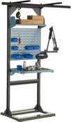 "Multi-Purpose Stand, Assembly Station, Fixed, 32"" x 27"" x 85"" high"