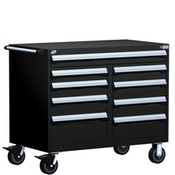 Mobile Tool Drawer Cabinet Rousseau R5GHE-3402 BK