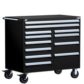 Mobile Tool Drawer Cabinet Rousseau R5GHE-3810 BK