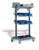 "Multi-Purpose Stand, Workstation, Mobile, 32"" x 27"" x 59"" high"