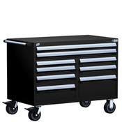 Mobile Tool Drawer Cabinet Rousseau R5GHE-3009 BK