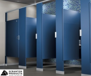 Bathroom Partitions Materials bathroom stalls : which toilet partition material is right for