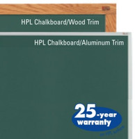 Marsh HPL (High Pressure Laminate) Chalkboards. Affordable. Price depends on Size and Trim.