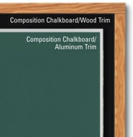 Marsh Composition Chalkboards. Economical. Price depends on size and trim.