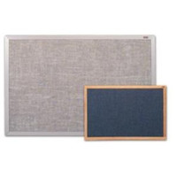 Marsh Burlap Covered Bulletin Boards. Variety of colors, sizes & trims. Price depends on Size and Trim.