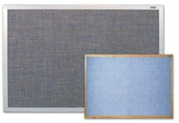 Marsh Vinyl Covered Bulletin Boards. Variety of colors, sizes, & trims. Price depends on size and trim.