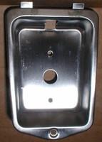 Penco Locker Recessed Handle Pocket. Stainless Steel. #74081